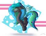 Commission: Color Canvas Changelling