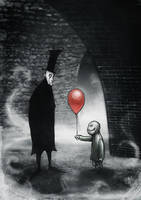 Red balloon by kerast