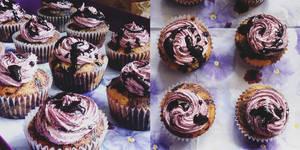 Mulberry Cupcakes by merkero