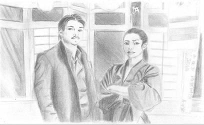 Bunraku by YinYangOkami