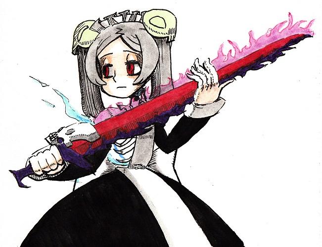 sword by Kuroirozuki