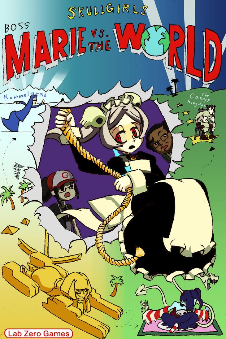 Boss Marie vs. the world by Kuroirozuki