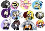 My favorite characters by Kuroirozuki