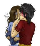 Zutara - Surprise Kiss