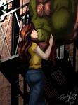2k14 Raphril Spiderman Kiss