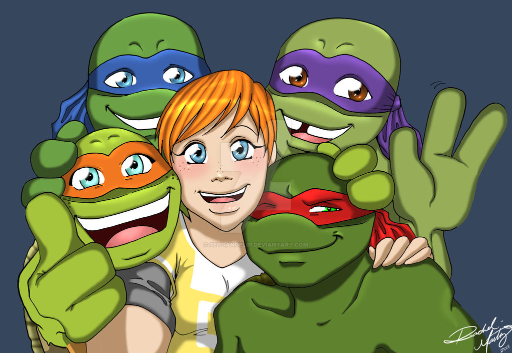 Tmnt 2012 Selfie By Setoangel01 On Deviantart