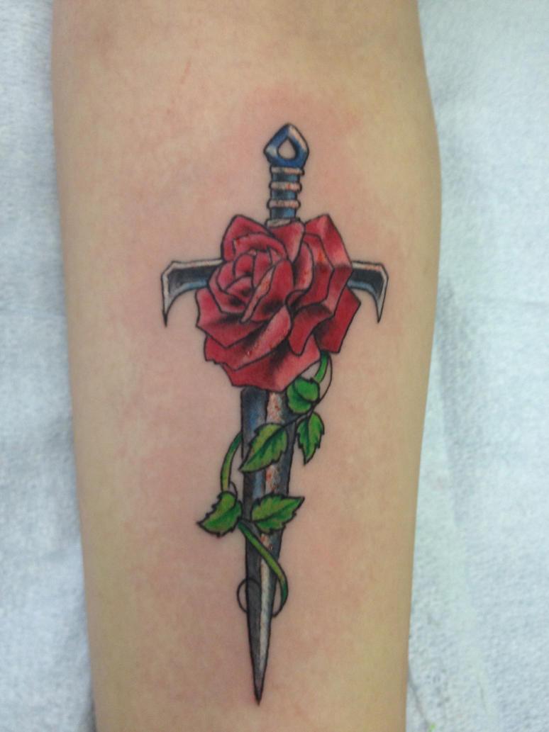 new tattoo by sadd emo on deviantart