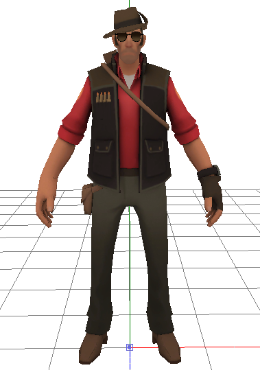 how to change 3d model tf2