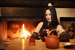 Relaxing tea by Isadorada