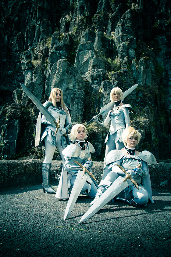 Claymore Quartet by Isadorada