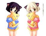 Catgirls- Mizu and her sister