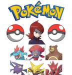 Silver Pokemon team