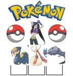 Lucy Pokemon team
