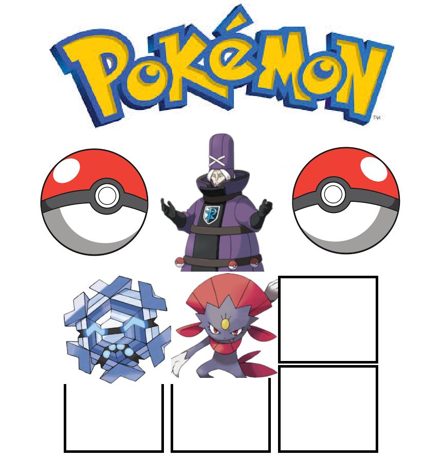Zinzolin Pokemon team