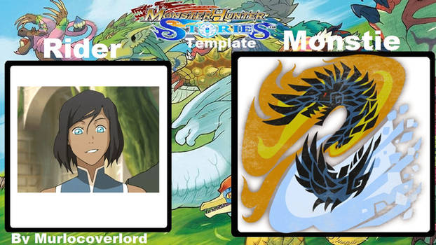 Monster Hunter Stories Korra and Alatreon