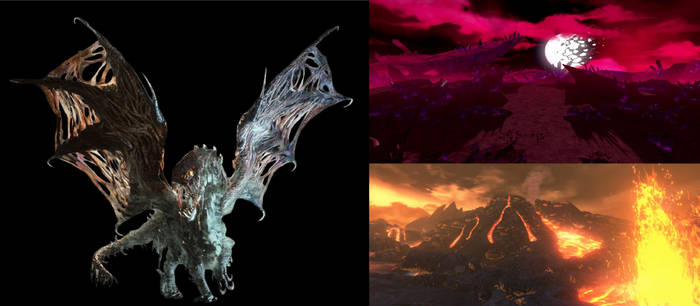 RWBY/MH The Elder Dragon of Land of Darkness
