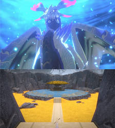 RWBY/MH The Elder Dragon of Domain of Light