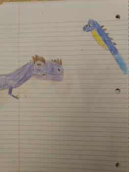 Bellatosaurus Rex vs Brontoposeidon