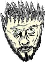 The Vector Face by zebanim