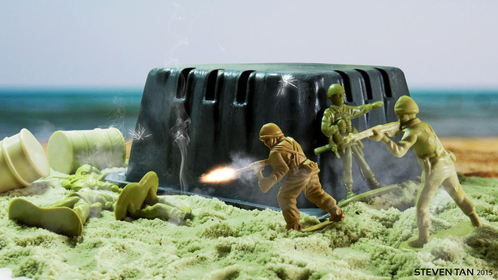 Army Men Bunker by STan94