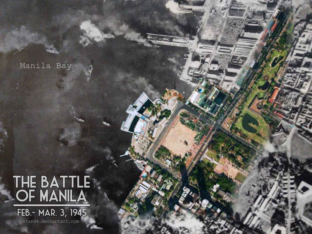 The Battle of Manila (Aerial Photo) by STan94