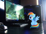 My Little Dashie #1:  Excited for Halo
