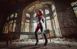 Bloodrayne Cosplay With Blades by yaseminkaraca