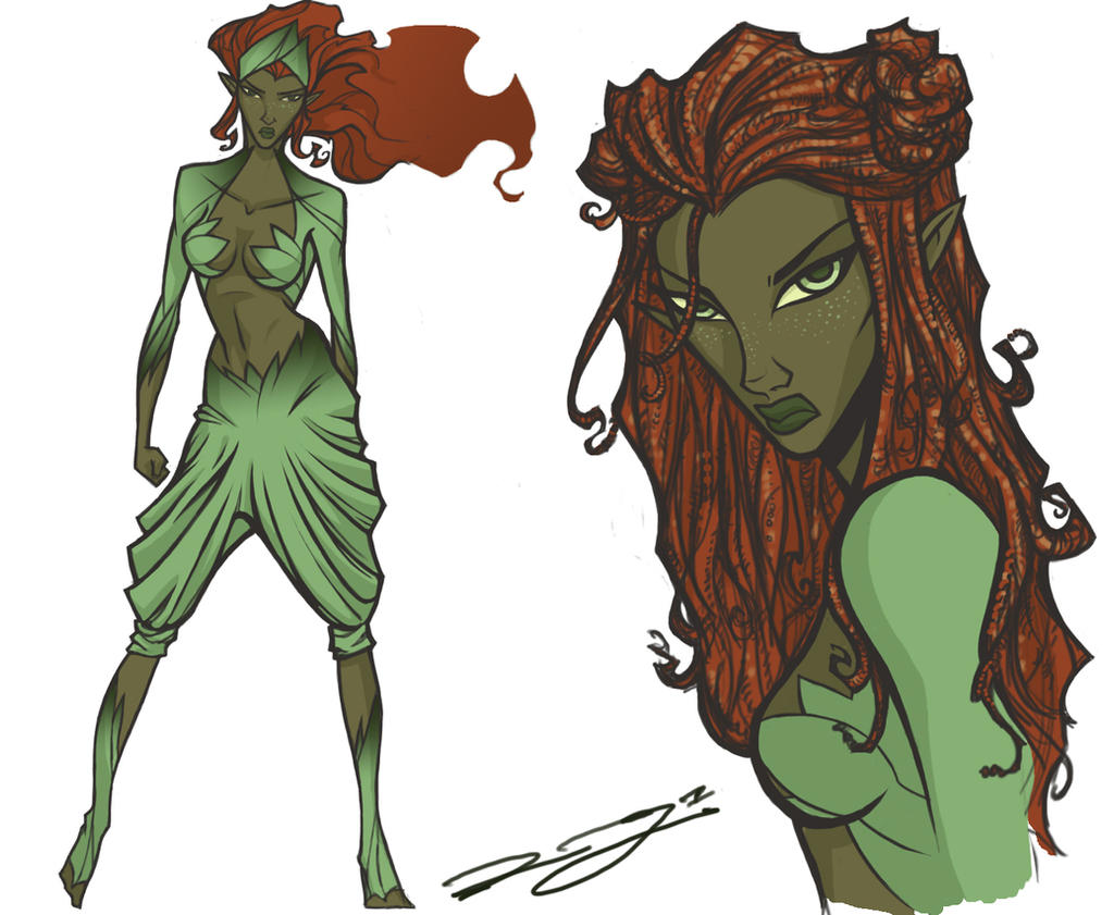 Poison Ivy Redesign by Egghead-RJThompson
