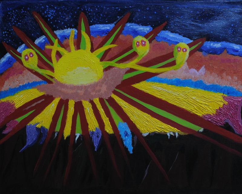 New Beginnings Haleakala Sunrise by LisaLovelyLPA