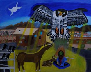Return of the Peregrine Falcon by LisaLovelyLPA