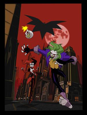 Joker's Last Laugh by VintonHeuck