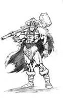 Thor, god of thunder by VintonHeuck