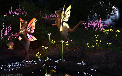 Gluehen in der Nacht / Glow in the Night by tinkerfairy57