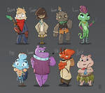 Character Designs [Nature]