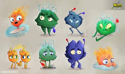 Mino Characters