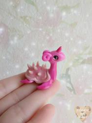 Pink Lapras Pokemon by CookieAndDinos