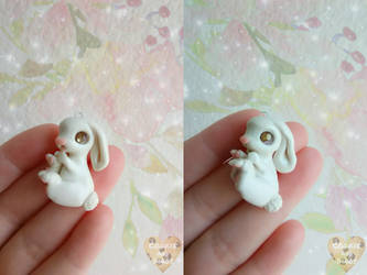 Baby Bunny Charms by CookieAndDinos