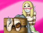 Portrait of a Tickled Artist by Ticklesogood