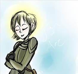 Joan of Arc by Madbrook95