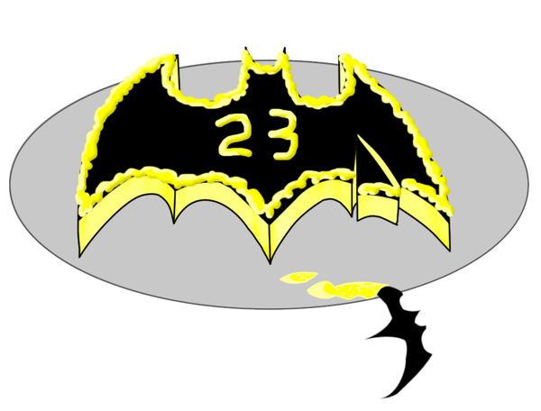 The Bat-Cake by Xaran-Alamas on deviantART