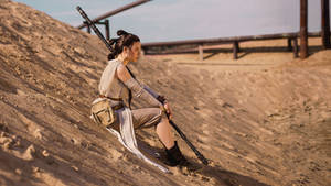 Rey - Star Wars: The Force Awakens cosplay
