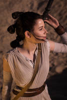 Rey - Star Wars: The Force Awakens cosplay by EnotArt
