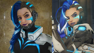 Sombra cyberspace cosplay