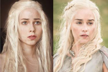 Daenerys cosplay by EnotArt
