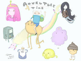 Adventure Time by Filatura