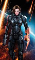 Commander Milla Shepard by jocachi