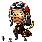 Usopp by Airw00lf