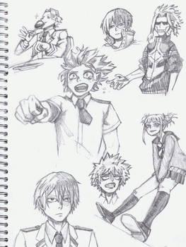 Boku No Hero Academia sketchpage
