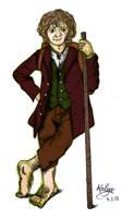 Bilbo Baggins by Kailyce