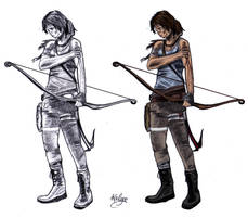 Lara Croft by Kailyce